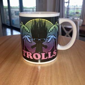 Trolls coffe mug